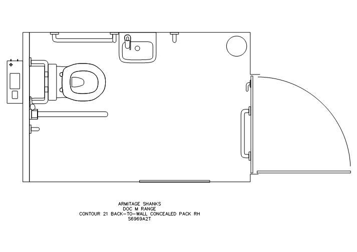 FastrackCAD - Armitage Shanks CAD Details