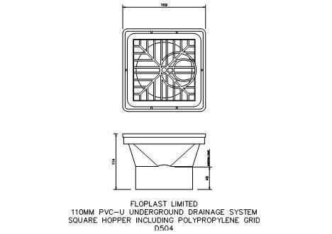 FastrackCAD - FloPlast Limited CAD Details