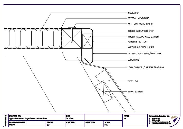 Roof edge details pictures to pin on pinterest pinsdaddy for Mansard roof construction details