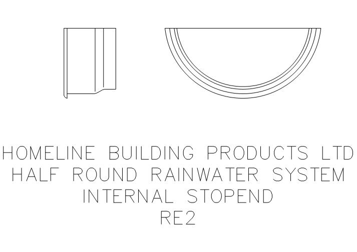 Fastrackcad homeline building products limited cad details for Half round buildings