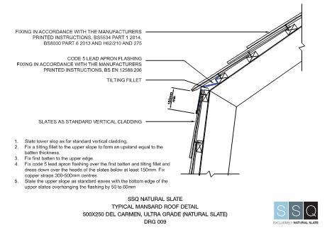 Fastrackcad ssq uk limited cad details for Mansard roof section