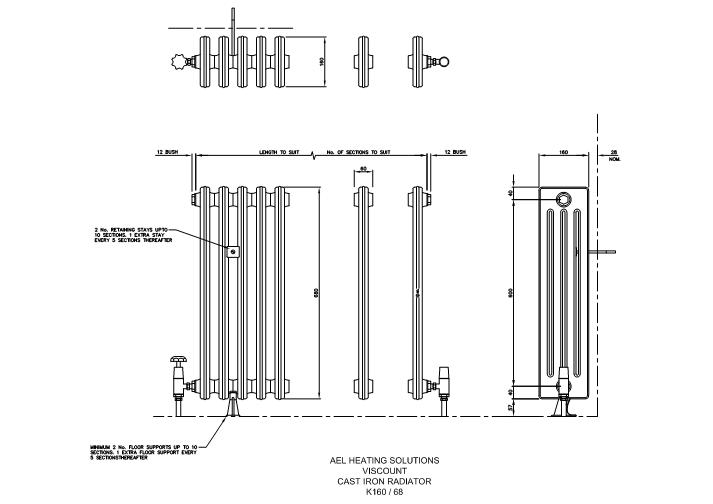 Fastrackcad cavity trays ltd cad details for Radiador dwg