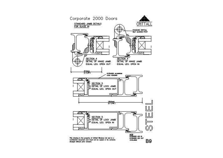 door jamb detail plan. DWG · JAMB DETAILS C2000B09. Door Jamb Detail Plan