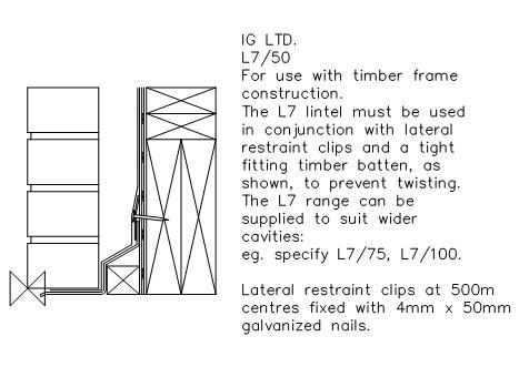 FastrackCAD - IG Lintels CAD Details