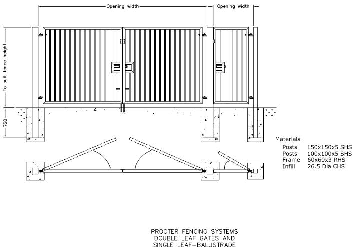 sliding gate plans free. FS10  CAD drawings in AUTOCAD format