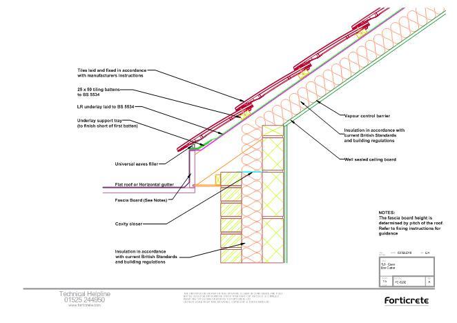 FastrackCAD - Forticrete Ltd CAD Details