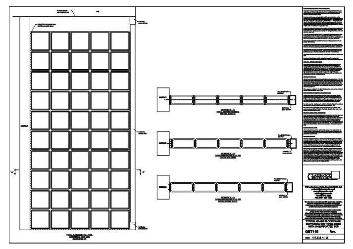 FastrackCAD - Glass Block Technology Ltd CAD Details